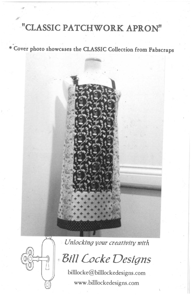 Classic Patchwork Apron Pattern -Bill Locke Designs