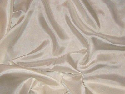 Cream - 8mm Silk Habotai