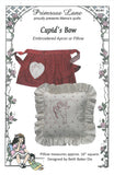 Cupid's Bow Apron or Pillow Pattern - Primrose Lane