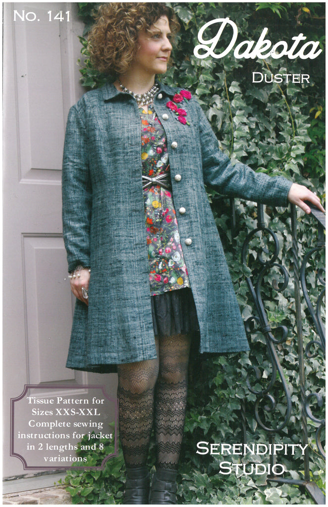 Dakota Duster Jacket Pattern sizes XXS-XXL - Serendipity Studio Sewing Pattern