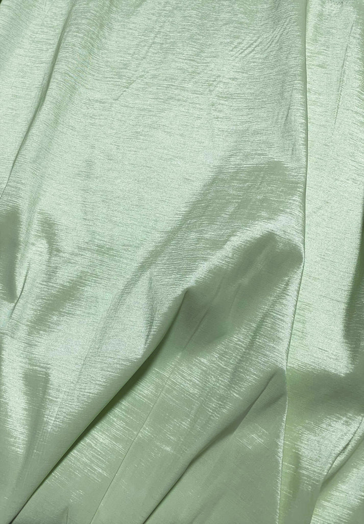Meadow Green - Stretch Polyester Taffeta Fabric - David Tutera Fabrics