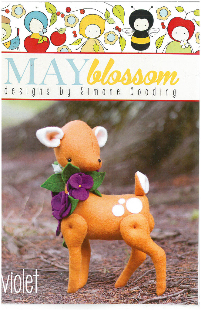 Violet Deer Sewing Pattern - May Blossom