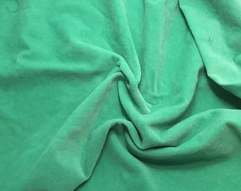 Emerald Green - Hand Dyed Cotton Velveteen