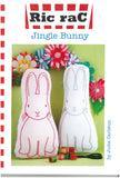 Jingle Bunny Pattern-Ric rac by Jodie Carleton