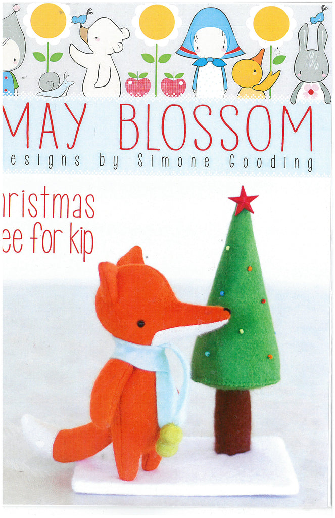 Christmas tree for Kip Sewing Pattern - May Blossom