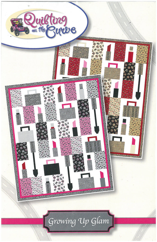 Growing Up Glam Quilt Pattern-Quilting on the Curve