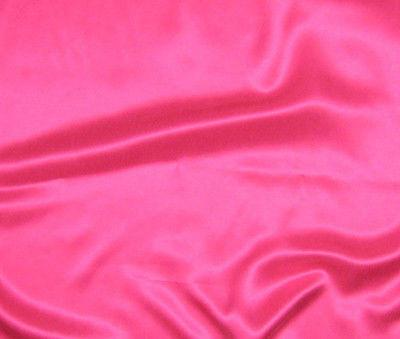 Hot Pink - Sandwashed Silk Charmeuse