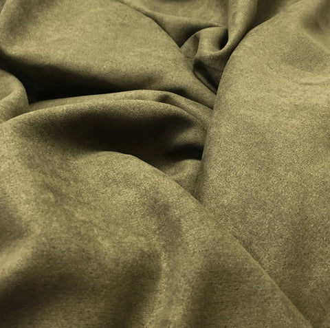 Smoky Brown - Microsuede Fabric