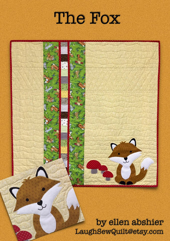 The Fox - Quilt Pattern by Ellen Abshier