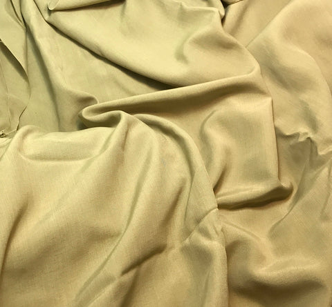 Golden Beige - Faux Silk Shantung Fabric