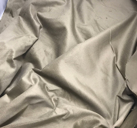 Taupe Brown - Upholstery Velvet Fabric