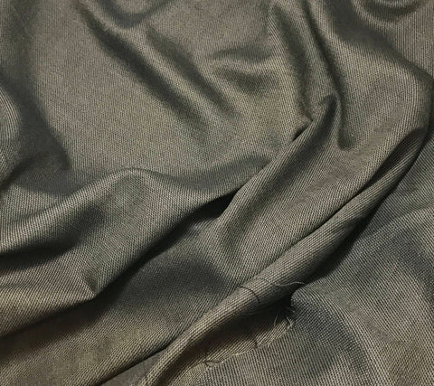 Chocolate Brown - Wool Suiting Fabric