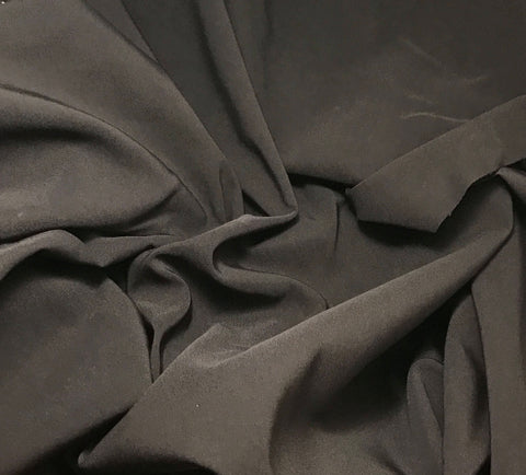 Raisin Brown - Stretch Faille Suiting Fabric