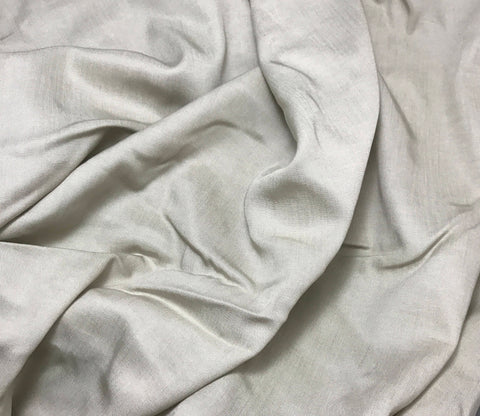 Beige - Wool Suiting Fabric