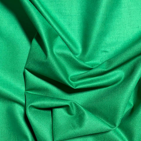 100% Cotton Basecloth Solid - Android Green - Paintbrush Studio Fabrics