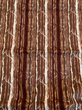 Brown Trees Timber Twilight - Forest Floor - by Art Gallery 100% Cotton Fabric