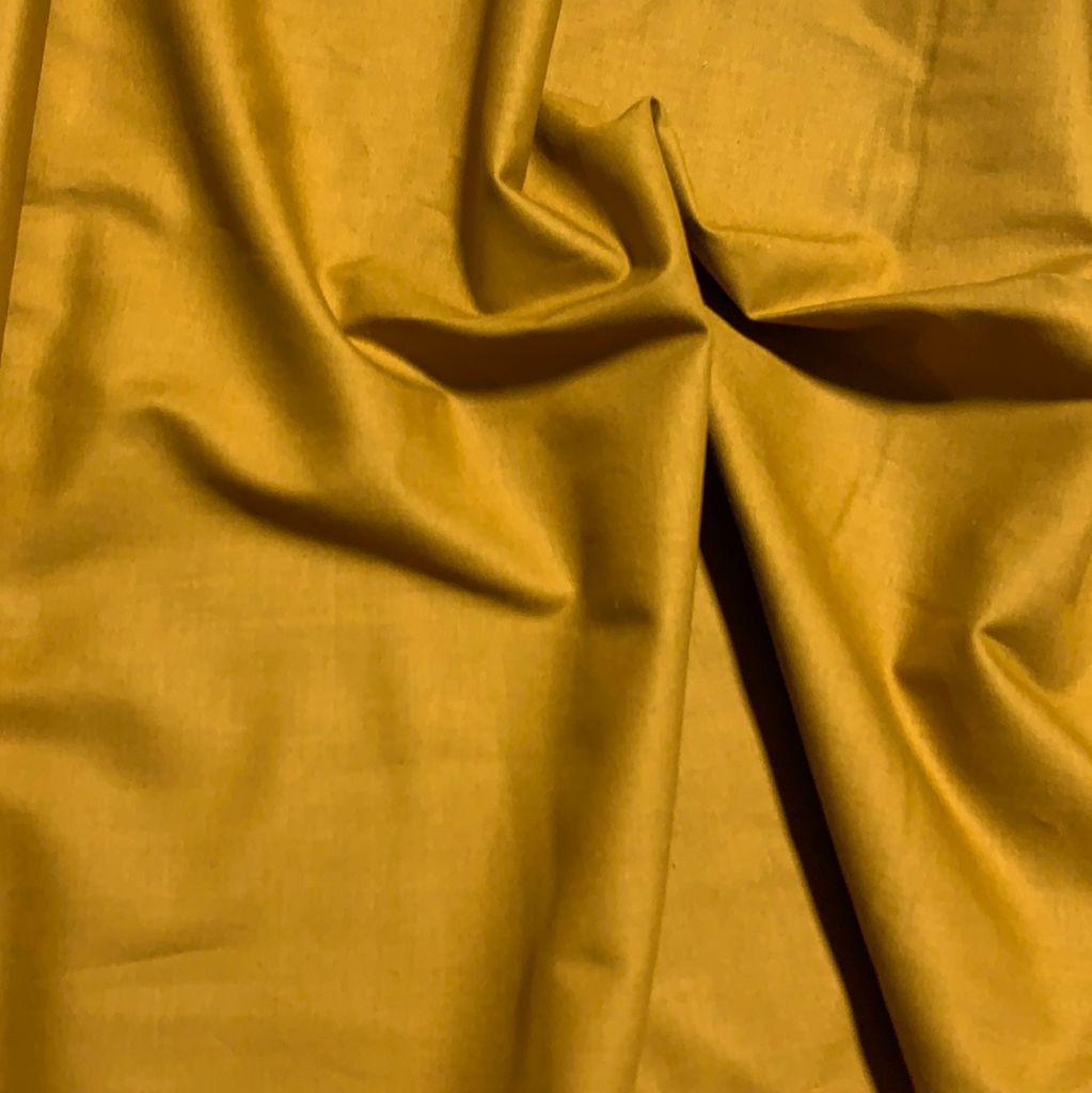 100% Cotton Basecloth Solid - Old Gold - Paintbrush Studio Fabrics