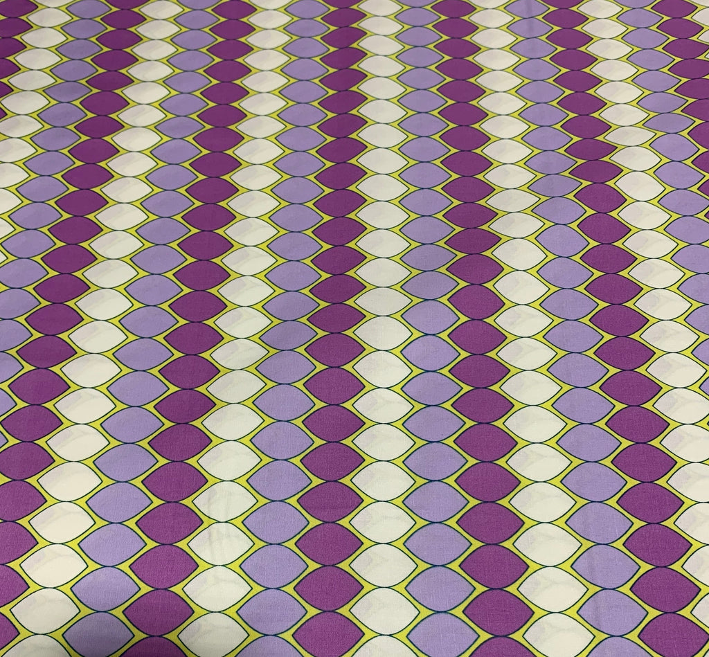 Mod Pop Lavender - Dreamin Vintage - Art Gallery 100% Cotton Fabric
