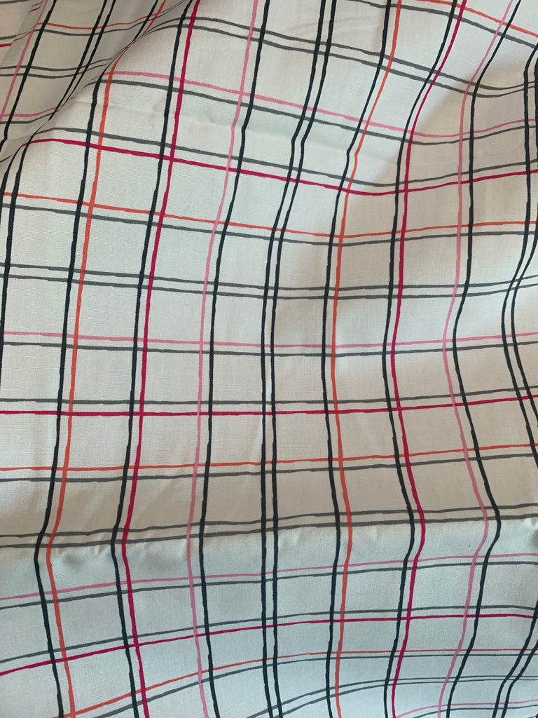 Plaid Beat Printemps - Playing Pops - by Art Gallery 100% Cotton Fabric