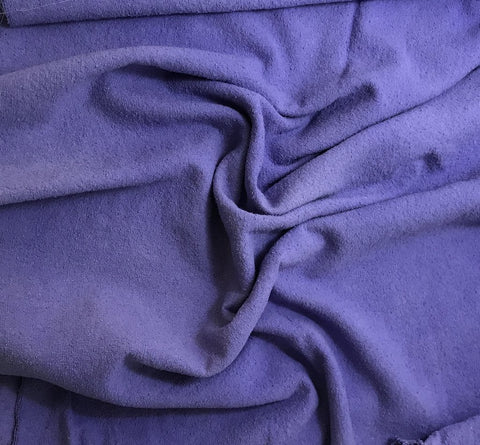 Iris Purple - Hand Dyed Silk Noil