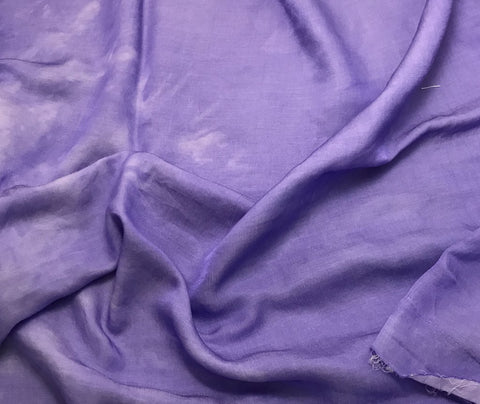 Iris Purple - Hand Dyed Silk/Cotton Sateen