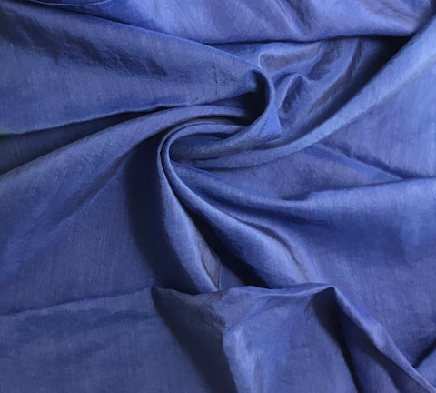 Lapis Blue - Hand Dyed Silk/ Cotton Habotai