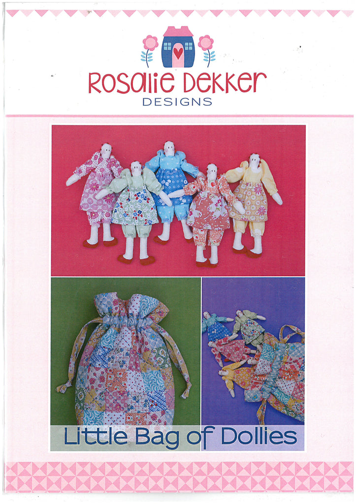 Little Bag of Dollies Doll Pattern - Rosalie Dekker Designs