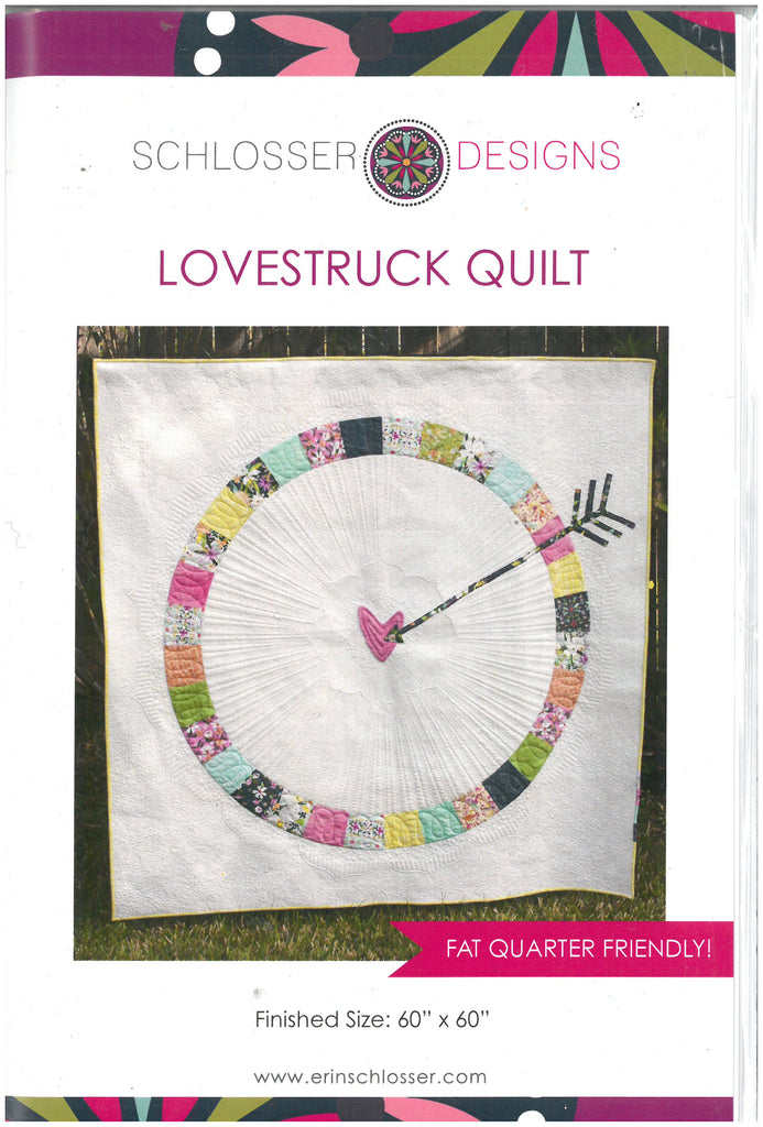 Lovestruck Quilt Pattern -Scholsser Designs
