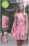 Mandy May Dress & matching Doll Dress - Olive Ann Designs