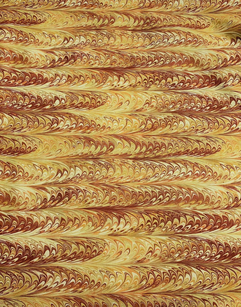 Boho Butterscotch Marble 3 - Art of Marbling - by Heather Fletcher for Northcott Cotton Fabric