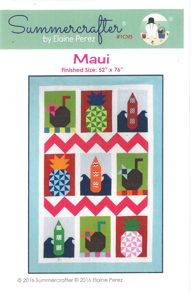 Maui Quilt Pattern -Summercrafter