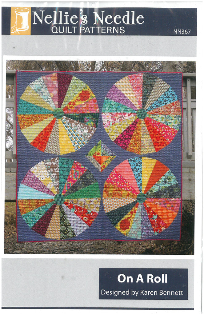 On a Roll Quilt Pattern - Nellie's Needle