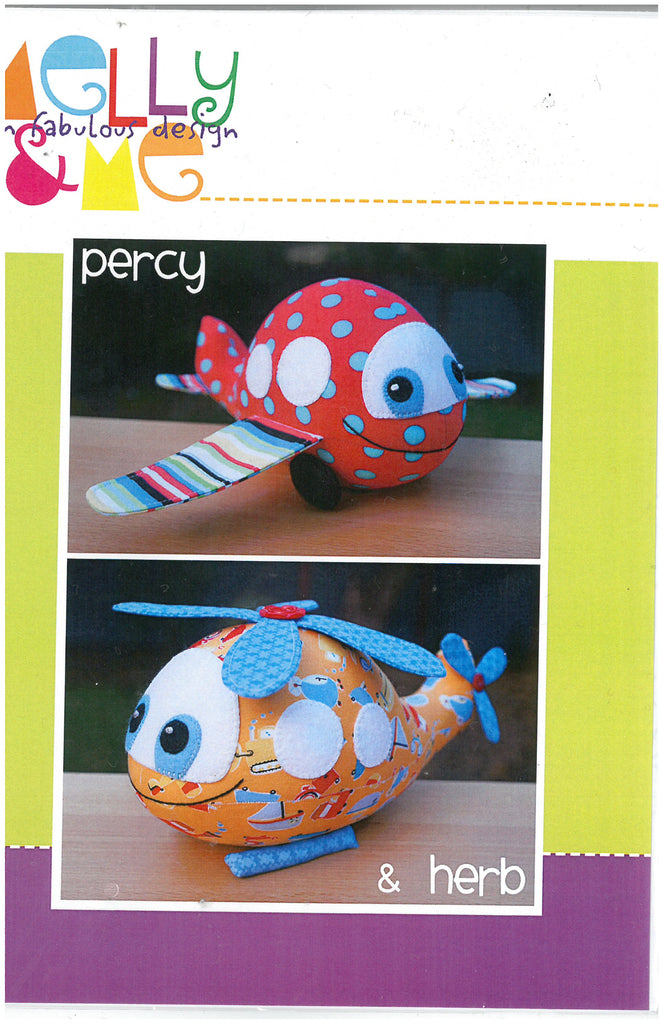 Percy & Herb Toy Sewing Pattern - Melly & Me