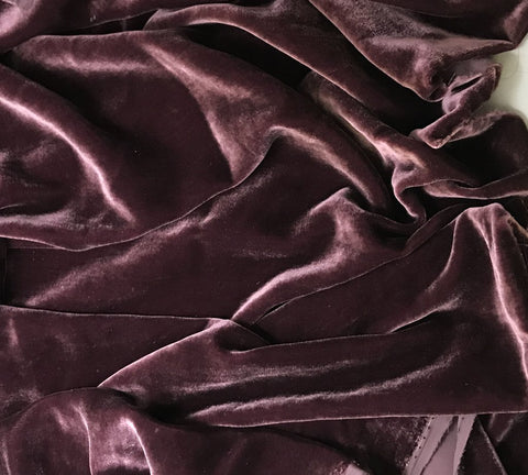 Plum Wine - Silk Velvet
