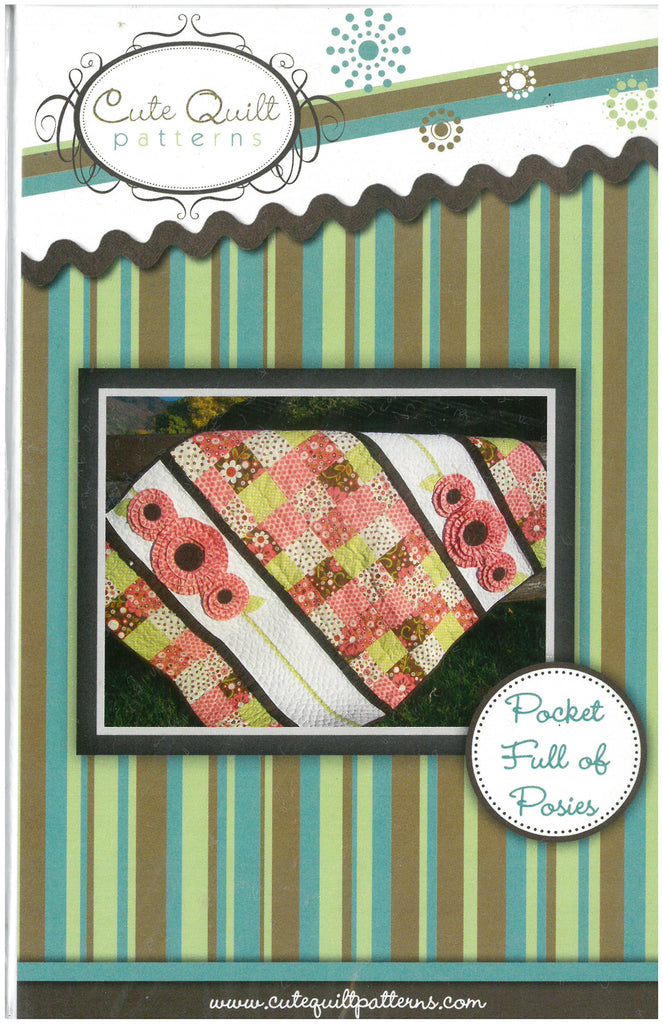 Pocket Full of Posies Quilt Pattern - Cute Quilt Patterns