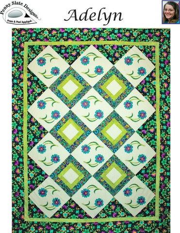 Adelyn - Quilt Pattern by Penny Slate Designs