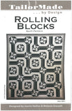 Rolling Blocks Quilt Pattern - TailorMade by Design