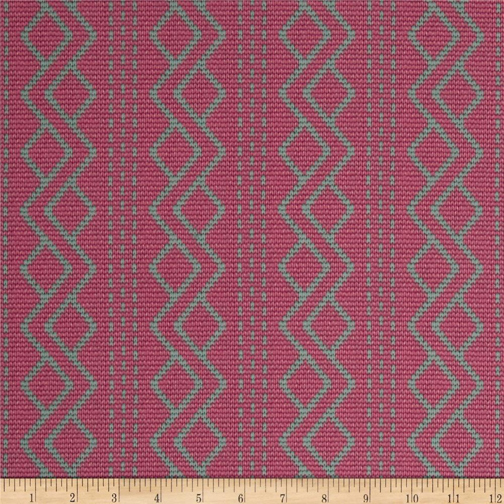 Downton Abbey II Argyle Pink - Cotton Quilting Fabric