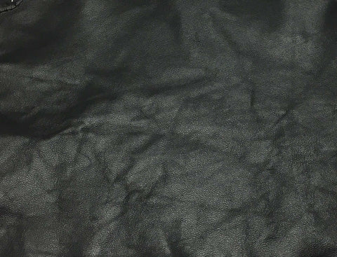 Black - Lambskin Hide Leather