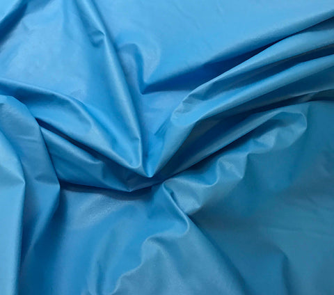Turquoise Blue - Faux Leather Fabric