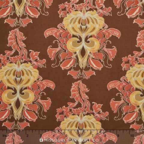 Tina Givens - Lilliput Fields - Vintage Take Damask - Cotton Home Dec Fabric
