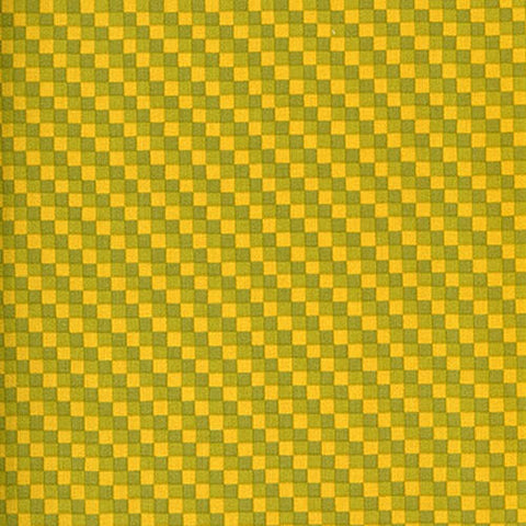 Westminster - Vicki Payne Golden Yellow Green Check - Cotton Home Dec Fabric
