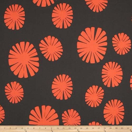 Windham - Follie Coral Flower Burst - Cotton Quilting Fabric