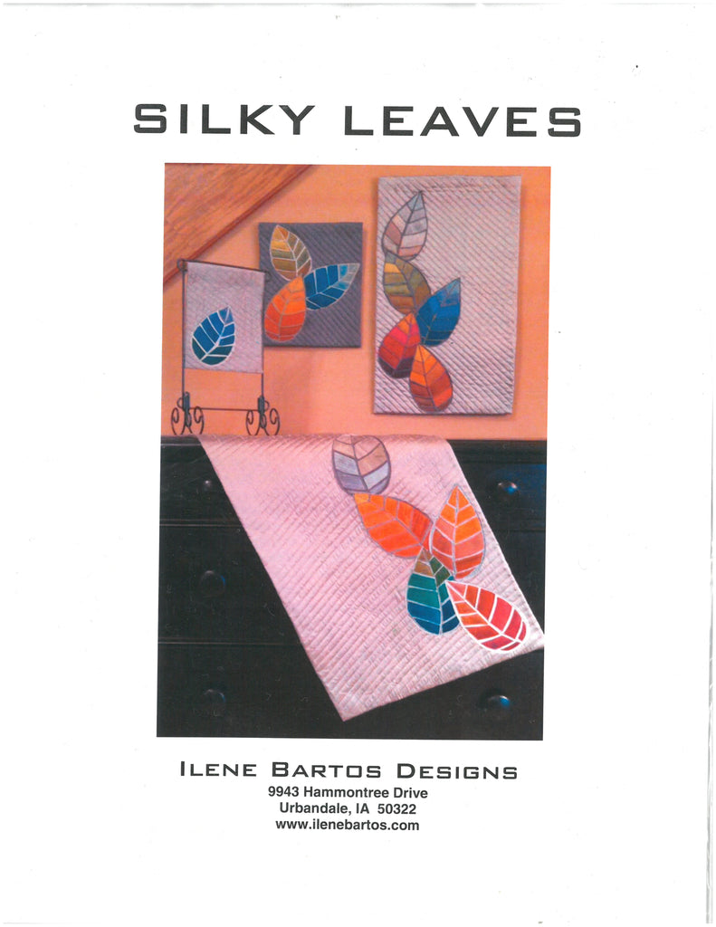 Silky leaves Quilt Pattern-Ilene Bartos Designs