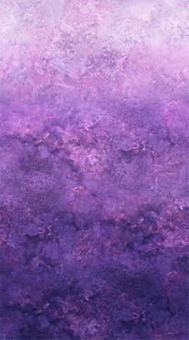 Amethyst Stonehenge Ombre - Northcott Cotton Fabric