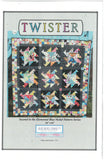 Twister Quilt Pattern- Blue Nickel Studios
