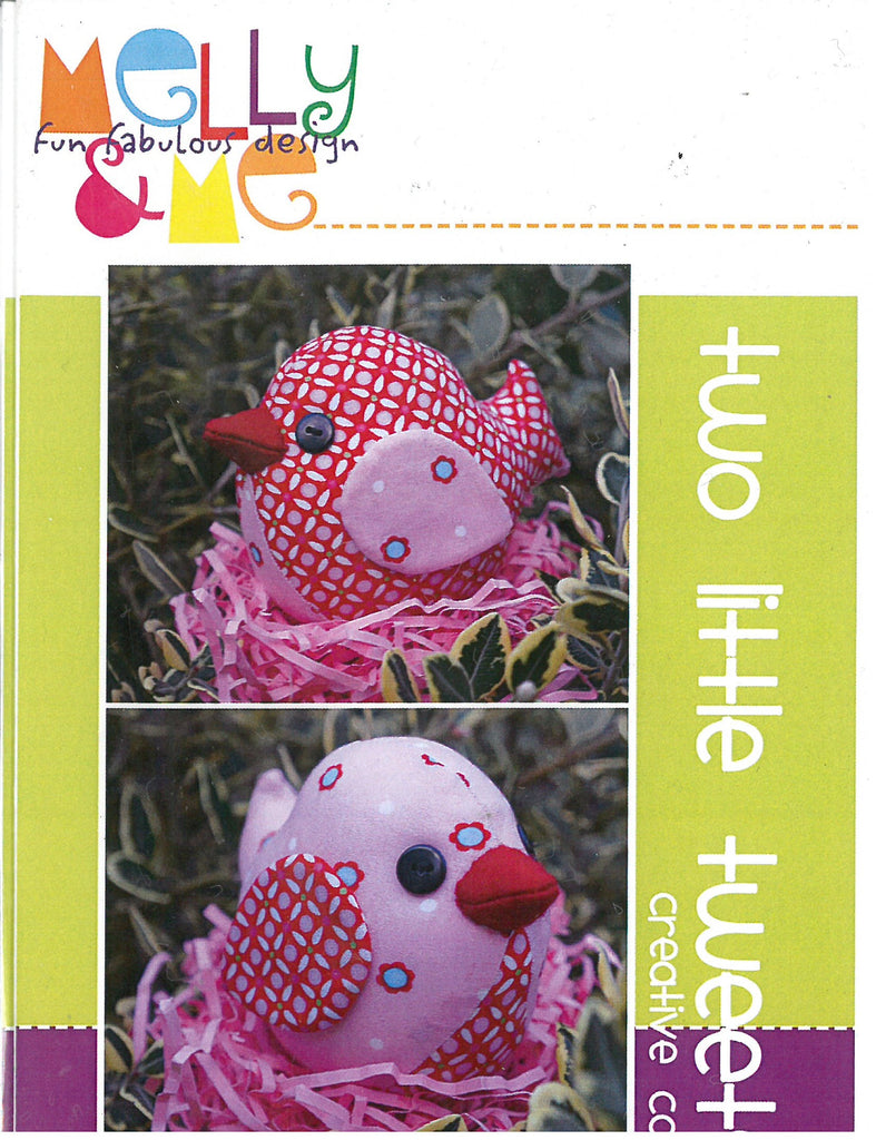Two Little Tweets Sewing Pattern- Melly & Me
