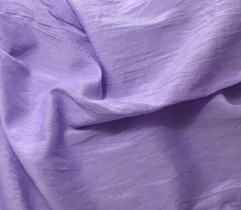 Violet - Hand Dyed Silk/Cotton Voile