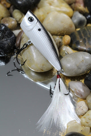 FORAGE BLACK SHAD FINESSE POPPER