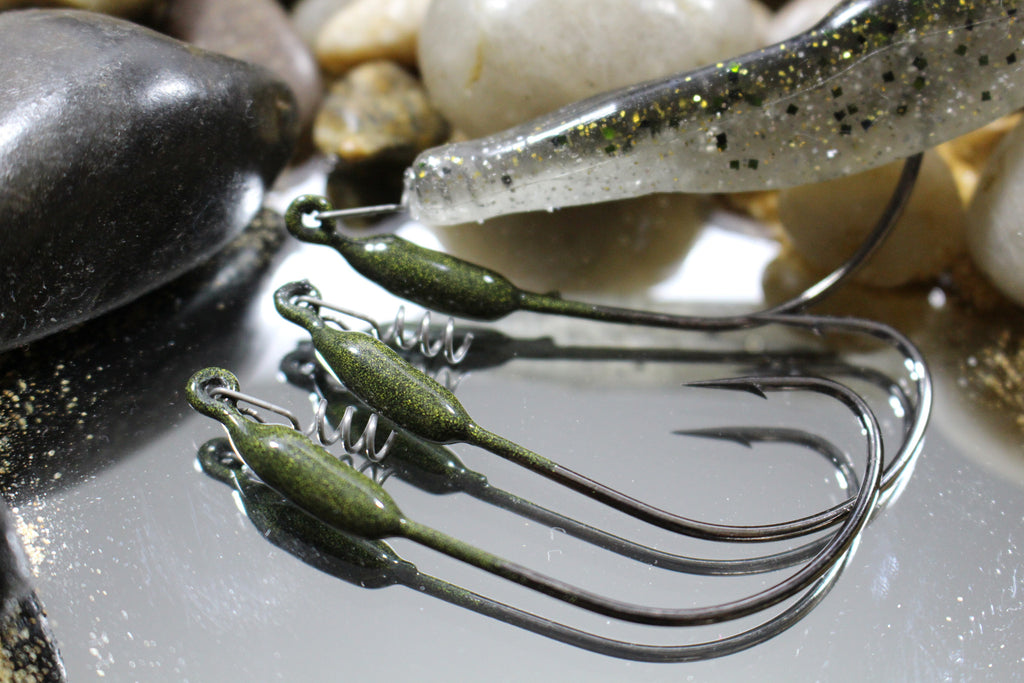 Watermelon Weighted Glide Hook 5/0 1/16oz (3 count)